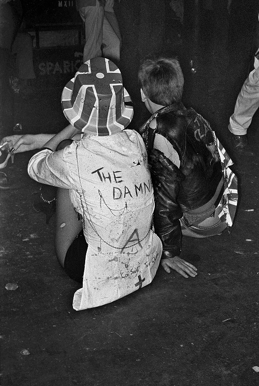 Punk London 1977, fot. Derek Ridgers